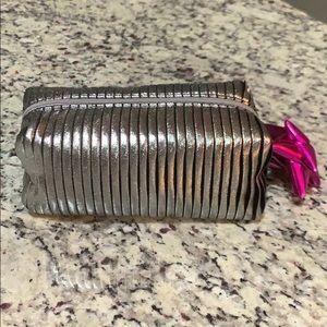 NWOT MAC Makeup Bag with Zipper Bow